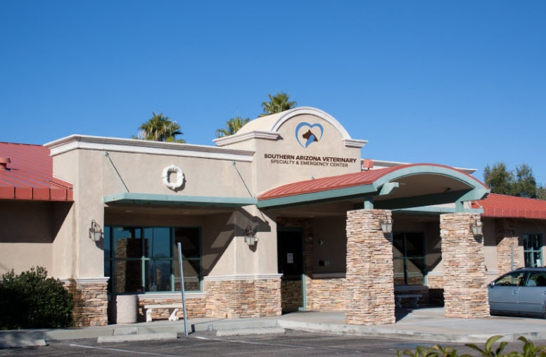 Southern Arizona Veterinary Emergency Center Computer Networking Client